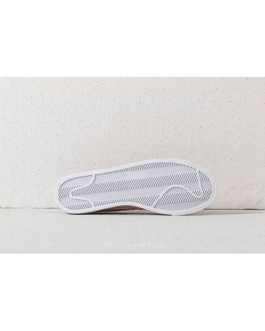 meet 1d453 46984 ... Nike - W Blazer Low Se Rust Pink Rust Pink-white - Lyst ...