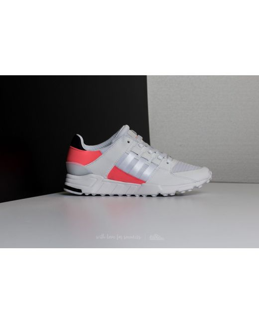 ... Adidas Originals | Adidas Eqt Support Rf Ftw White/ Ftw White/ Turbo |  Lyst ...