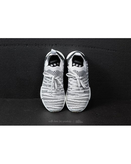 lyst adidas originali adidas nmd r1 stlt primeknit grigio / grigio due