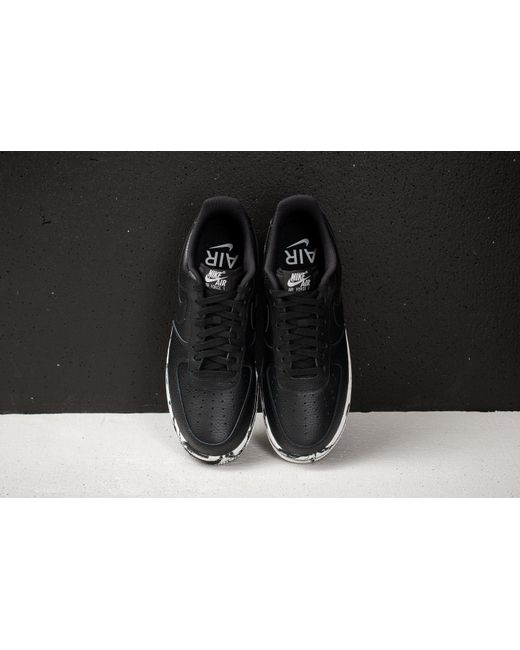 ... Nike - Air Force 1 '07 Lv8 Leather Black/ Black-summit White for ...