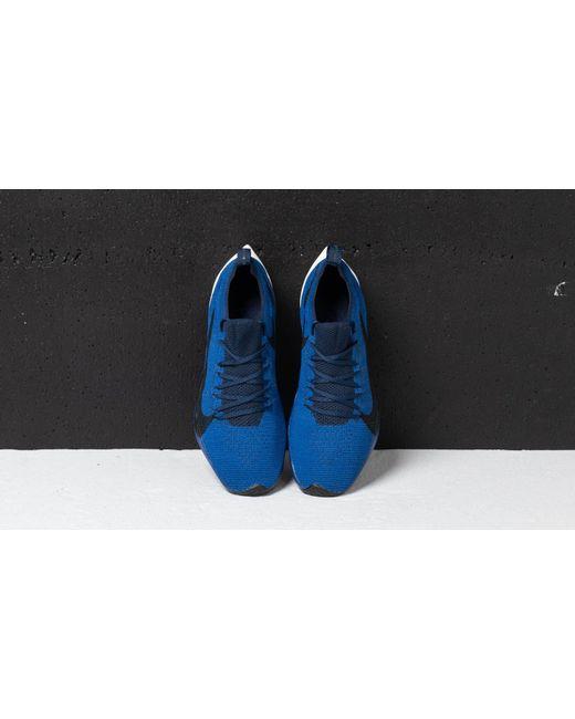e44206a4c62c8 ... Nike - Blue Vapor Street Flyknit Deep Royal  Black-college Navy for Men  ...