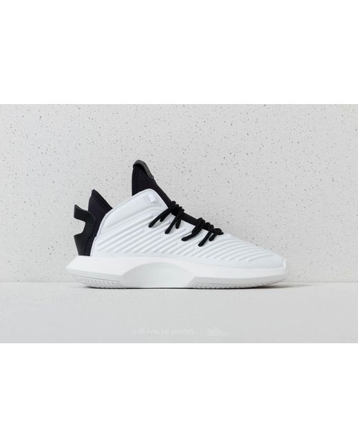 CRAZY 8 PRIMEKNIT ADV - Sneaker high - footwear white/core black/hi-res red