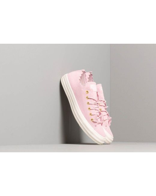 2e2dfb23703d Converse - Pink Chuck Taylor All Star Scallop Blush - Lyst ...