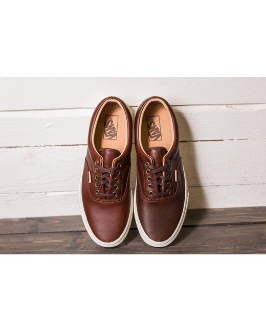 vans era lux learher