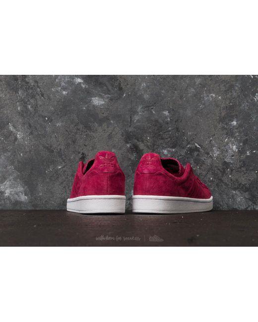 designer fashion 080cf 33b8c ... Adidas Originals - Multicolor Adidas Campus Stitch And Turn Mystery  Ruby Mystery Ruby Ftw ...
