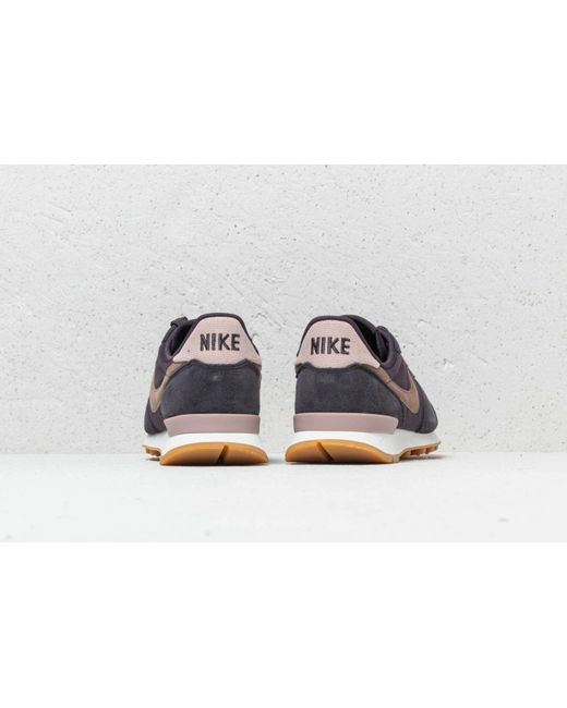 premium selection 00c4d 91dd1 ... coupon for nike gray internationalist wmns oil grey mink brown lyst  5fd31 d9666