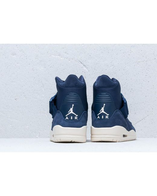 03a81407e85be8 ... Nike - Blue Air Wmns 3 Retro Exp Xx Midnight Navy  Light Cream-light ...