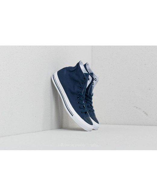 8e342975c31d ... good out x 65491 e50c4 Converse - Blue Chuck Taylor All Star Hi Navy  Navy White ...