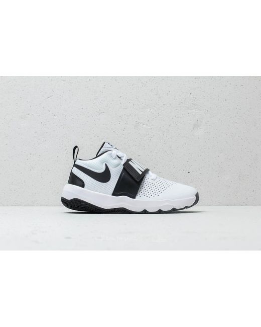 ... Nike - Team Hustle D 8 (gs) White  Black - Lyst ... 2e0f75d7877f