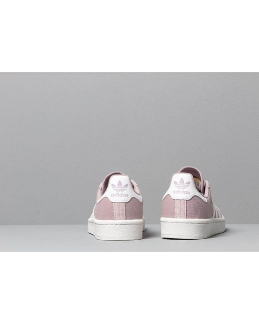 reputable site 57dc8 96213 ... Adidas Originals - Adidas Campus W Soft Vision  Ftw White  Crystal White  - Lyst ...