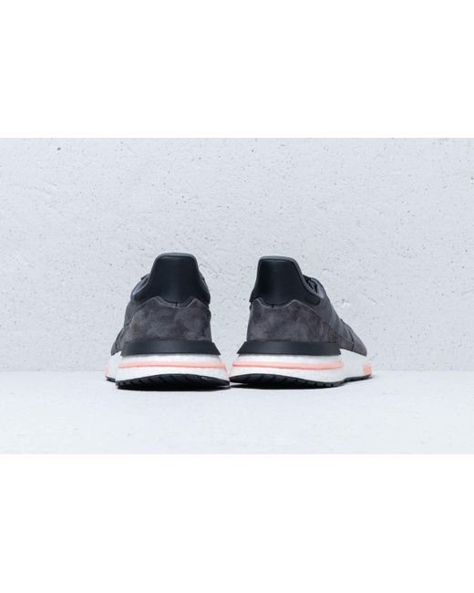 dfbd45410210 ... Adidas - Gray Zx 500 Rm Shoes - Lyst ...
