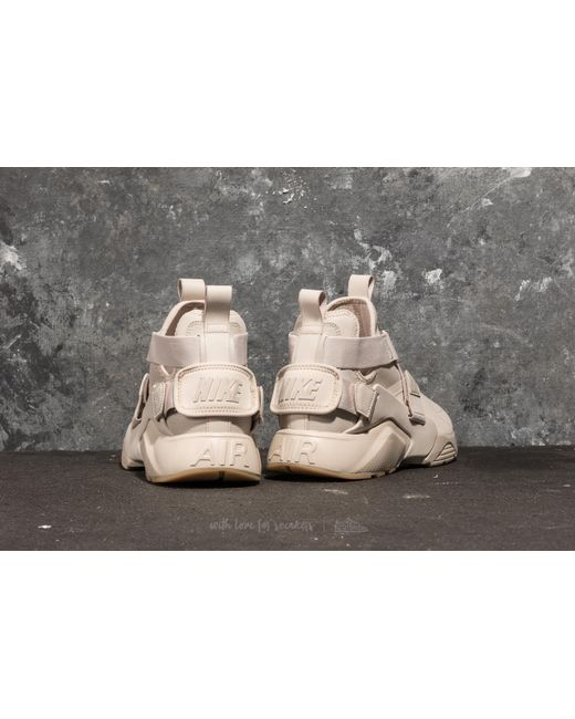 ... low price nike natural w air huarache city desert sand desert sand  white lyst b1c37 49cc4 42a7753be