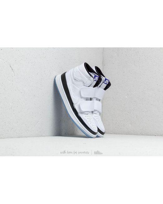 Nike - Air 1 Retro High Double Strap White  Dark Concord-black for Men ... ece8854a7