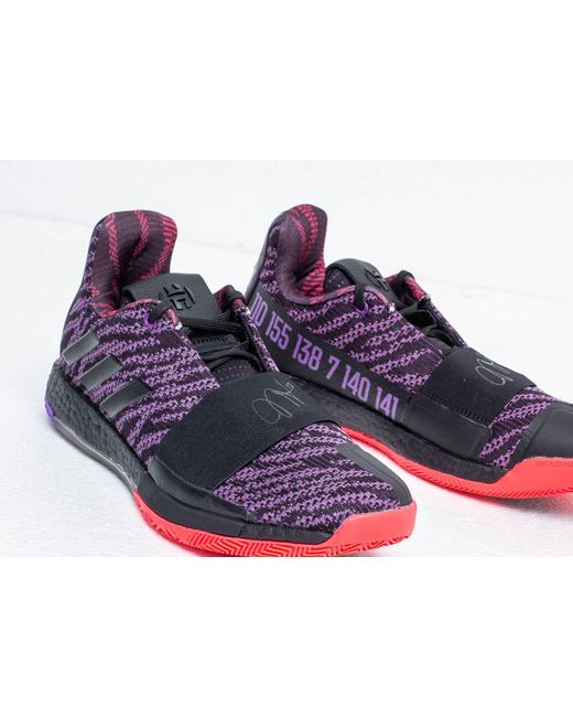 a222c5b2ccd9 ... Adidas Originals - Multicolor Adidas Harden Vol. 3 Legend Purple  Core  Black  Active