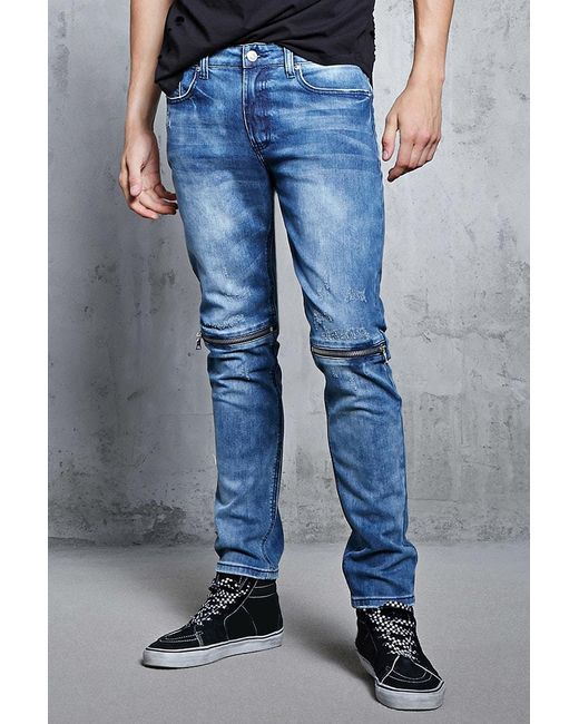slim-fit jeans - Blue N°21 Outlet Free Shipping Pictures Discount Huge Surprise tlfYEdAz