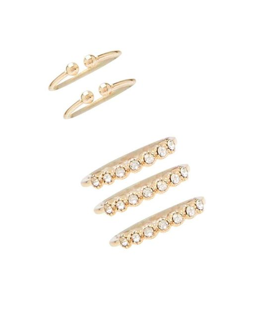 Forever 21 | Metallic Stackable Ring Set | Lyst