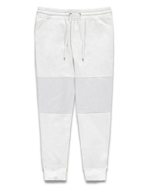 Forever 21 - White Mesh-paneled Sweatpants - Lyst