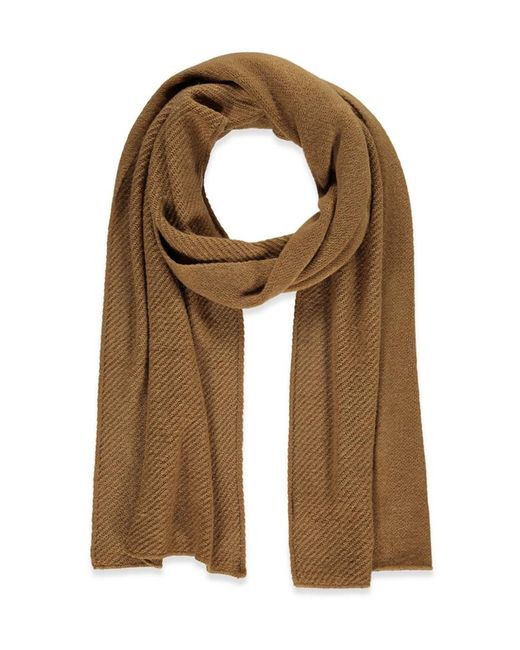 Forever 21 | Natural Oblong Knit Scarf | Lyst