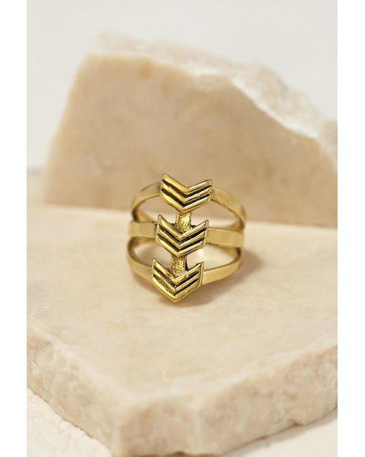 Forever 21 | Metallic Emerald Duv Daydream Ring | Lyst