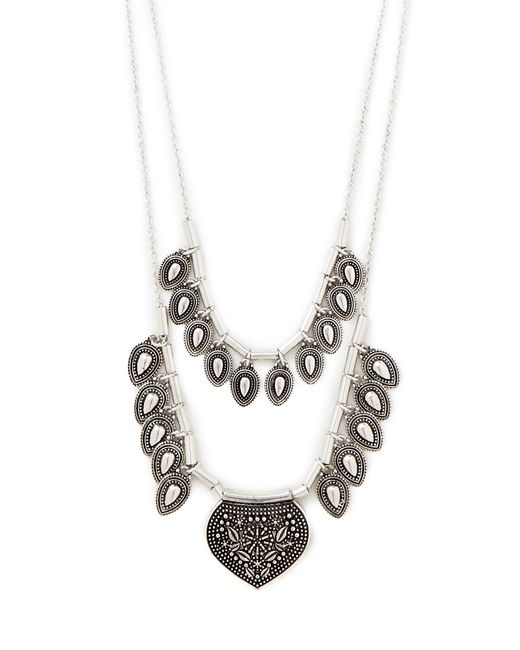 Forever 21 | Metallic Teardrop Pendant Necklace | Lyst