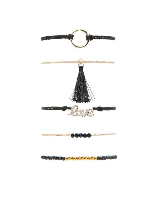 Forever 21 | Multicolor Love Bracelet Set | Lyst