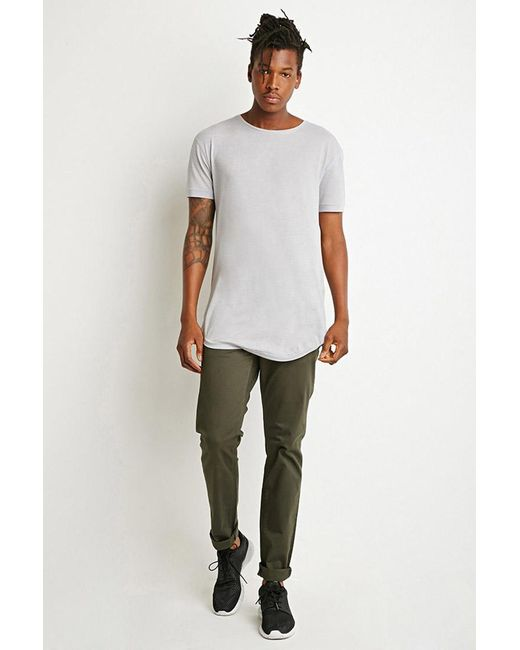 Forever 21 | Green Classic Twill Pants for Men | Lyst