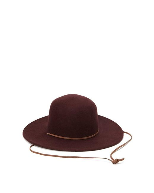Forever 21 | Purple Wide-brim Wool Hat | Lyst