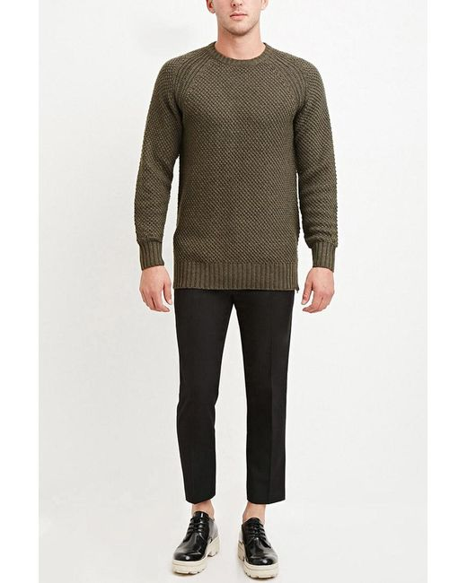 Forever 21 | Black Creased Trousers for Men | Lyst