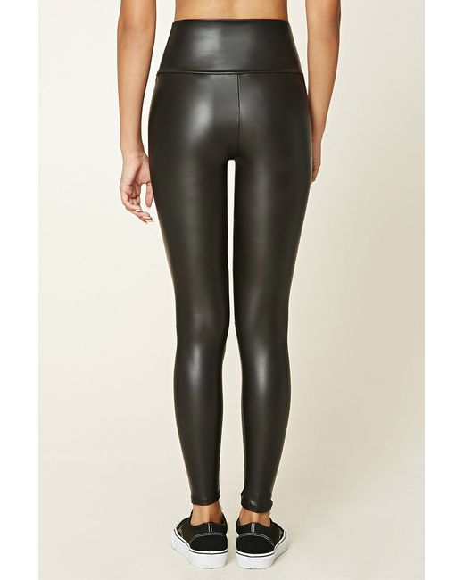 Amazing Leather Pants For Women Forever 21 Paneled Faux Leather Pants Forever