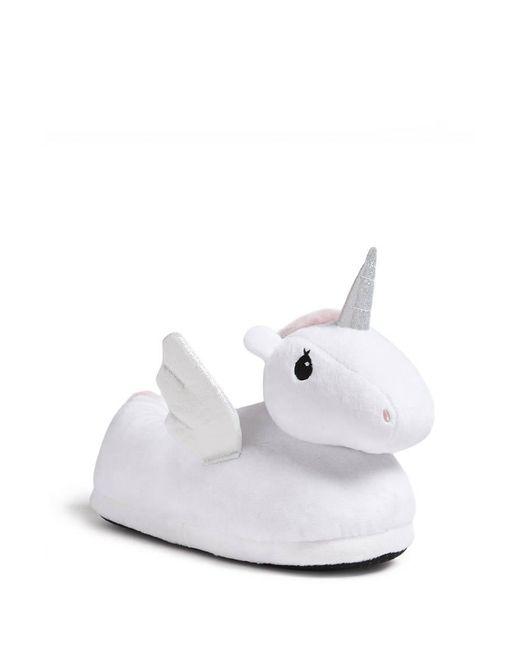 Forever 21 | White Fleece Unicorn Slippers | Lyst