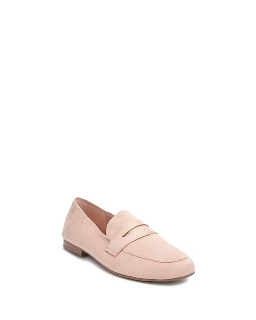 d2e1f2d8a55 ... Forever 21 - Pink Women s Faux Suede Penny Loafers - Lyst