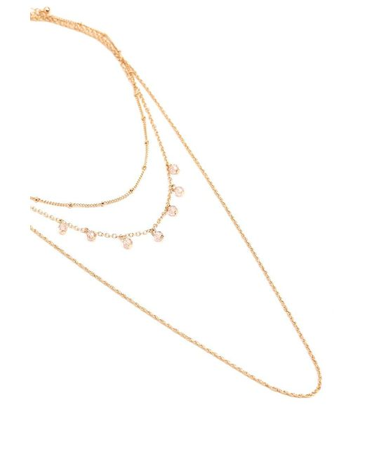 Forever 21 - Metallic Layered Spiral Chain Necklace - Lyst