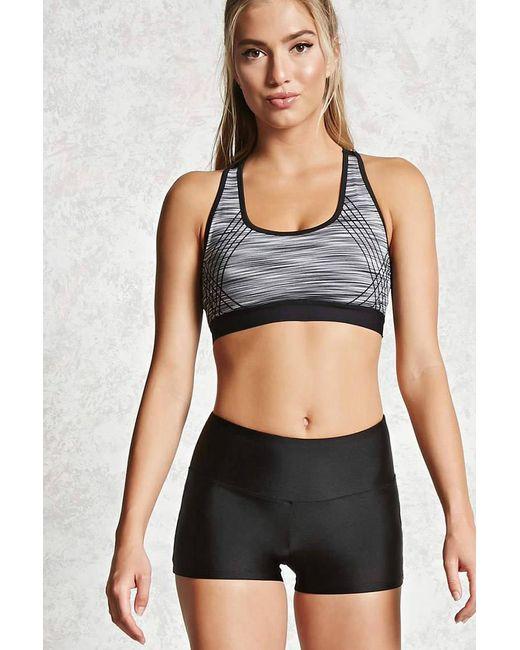 Forever 21 - Black Active Nylon Bike Shorts - Lyst