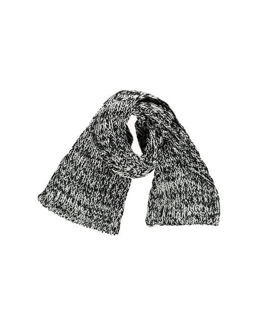 Forever 21 - Black Marled Chunky Knit Scarf - Lyst