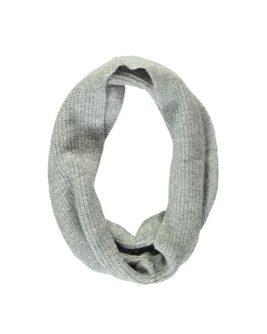 Forever 21 - Gray Ribbed Infinity Scarf - Lyst