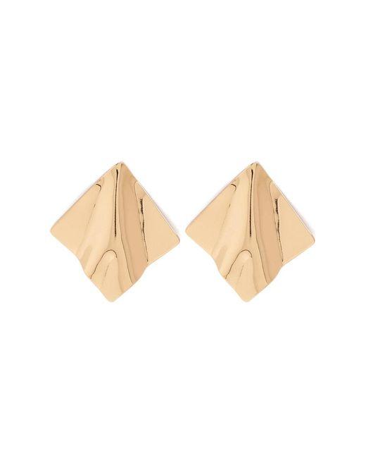 Forever 21 - Metallic Textured Geo Earrings - Lyst