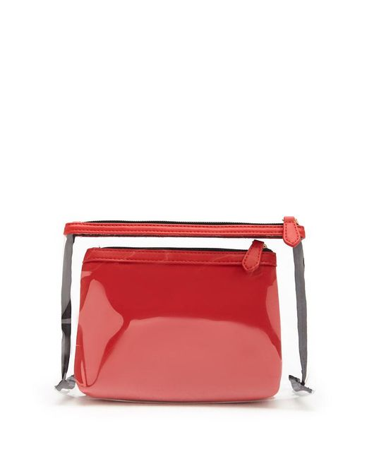 Forever 21 - Red Makeup Bag Set - Lyst