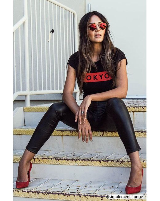 Forever 21 - Black Tokyo Graphic Tee - Lyst