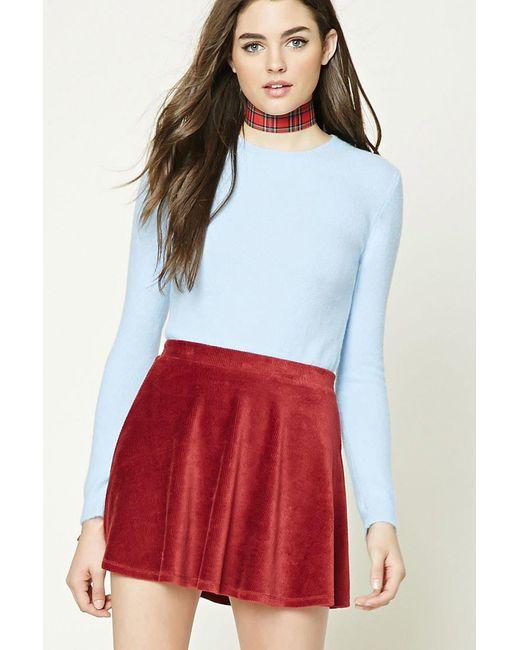 Forever 21 - Blue Women's Longline Fleece Jumper Sweater - Lyst