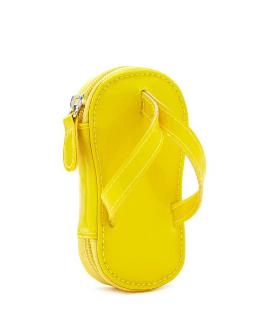Forever 21 - Yellow Flip-flop Coin Purse - Lyst