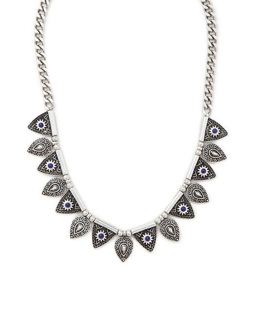 Forever 21 | Metallic Etched Collar Necklace | Lyst