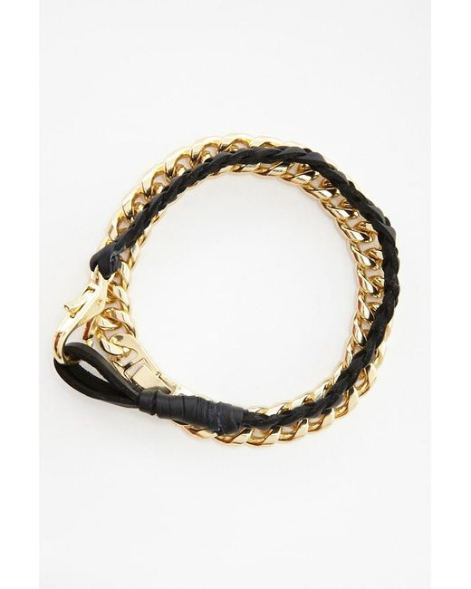 Forever 21 - Metallic Akademiks Bracelet Set - Lyst