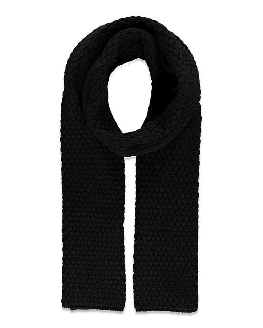 FOREVER21 - Black Chunky Knit Scarf - Lyst