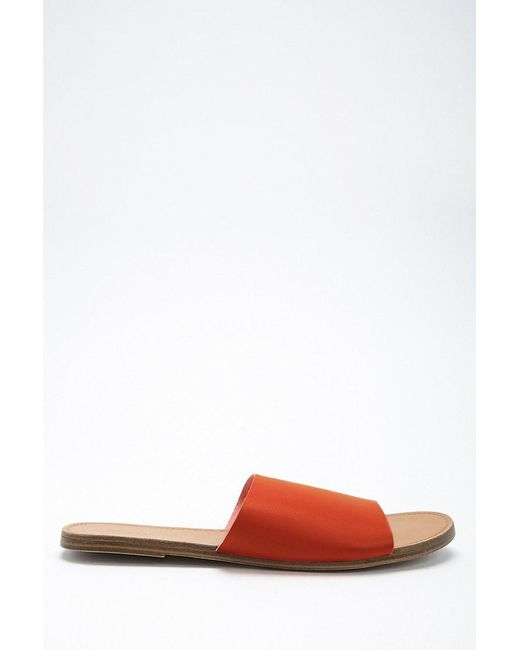 Forever 21 - Multicolor Faux Leather Slides - Lyst