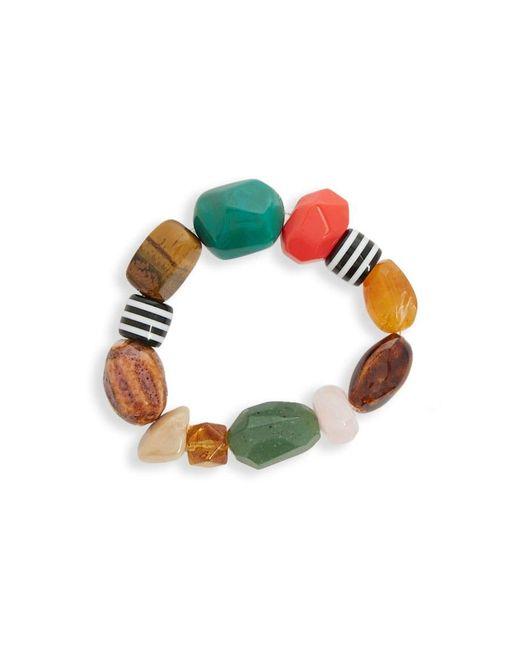 Forever 21 - Green Women's Assorted Geo-beaded Bracelet - Lyst