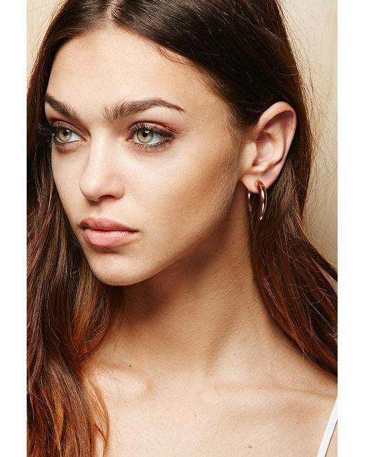 Forever 21 - Metallic Amber Sceats Hook Ear Jackets - Lyst