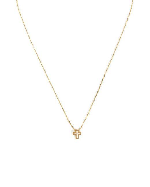 Forever 21 - Metallic Women's Cutout Cross Pendant Necklace - Lyst