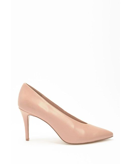 Forever 21 - Natural Chinese Laundry Pointed Toe Pumps - Lyst