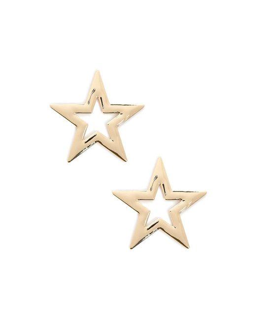 Forever 21 - Metallic Oversized Star Stud Earrings - Lyst