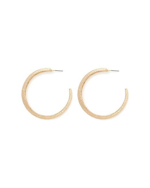 Forever 21 - Metallic Etched Hoop Earrings - Lyst